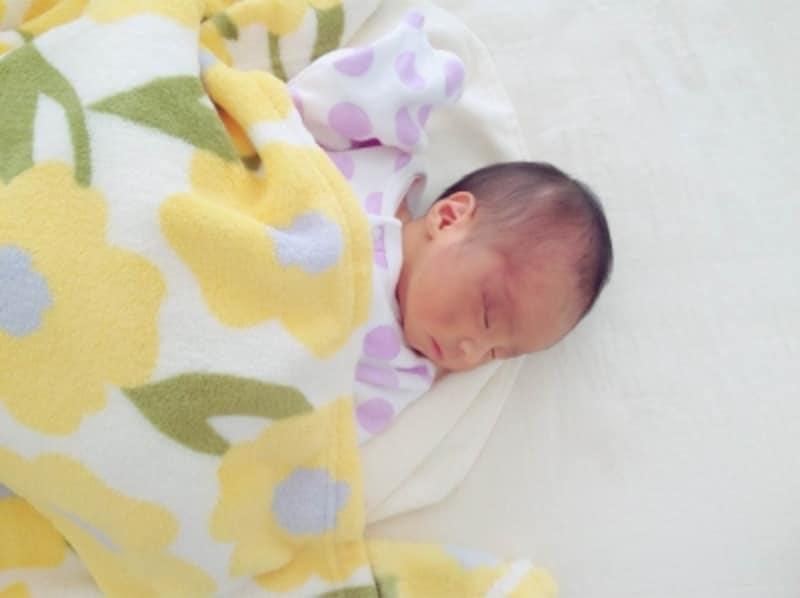 新生児・赤ちゃんの布団や寝具の環境はとても大切