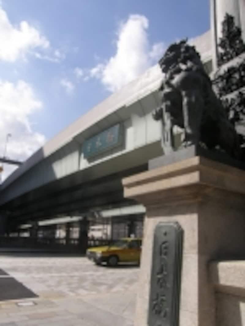 2011年に現橋架橋100周年を迎えた日本橋
