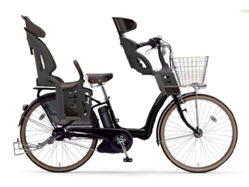 ヤマハ「PAS」の特設サイト、チャイルドシート装備シュミレーターでは、前後のチャイルドシートや自転車のフレームカラーの組み合わせをWEB上で着せ替えられる。購入前の組み合わせの参考にどうぞ