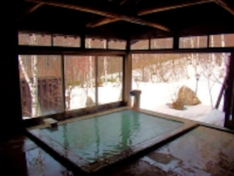 白骨温泉小梨の湯笹屋の内湯