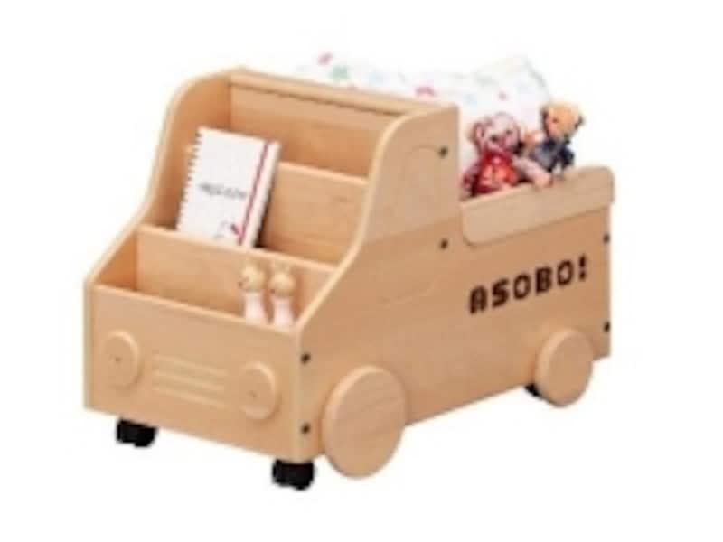 トラック型おもちゃ箱・アソボの画像