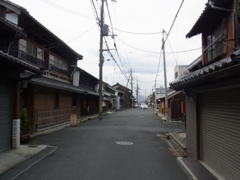 近鉄奈良駅駅北西側