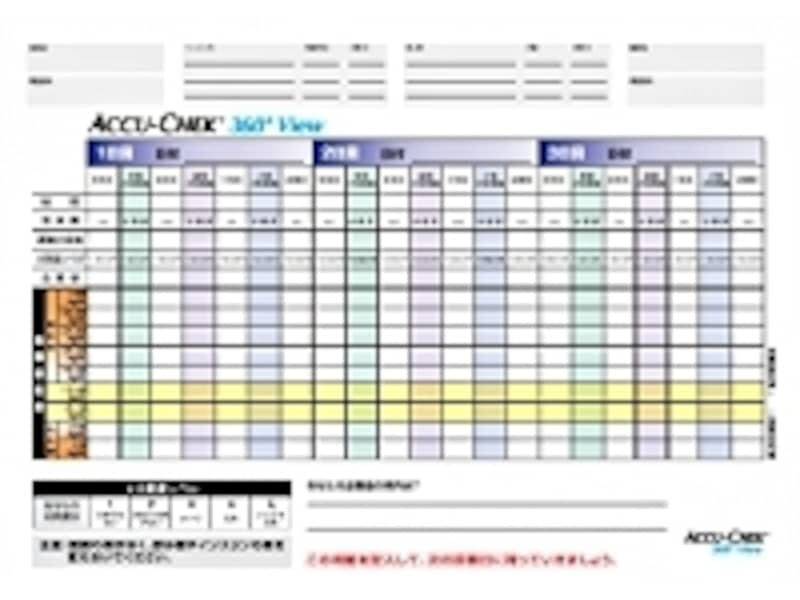 ACCU-CHEK360°view資料提供:ロシュ・ダイアグノスティックス株式会社