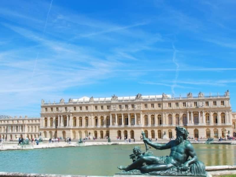 ベルサイユ宮殿南側面
