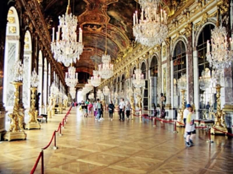 ベルサイユ宮殿、鏡の間