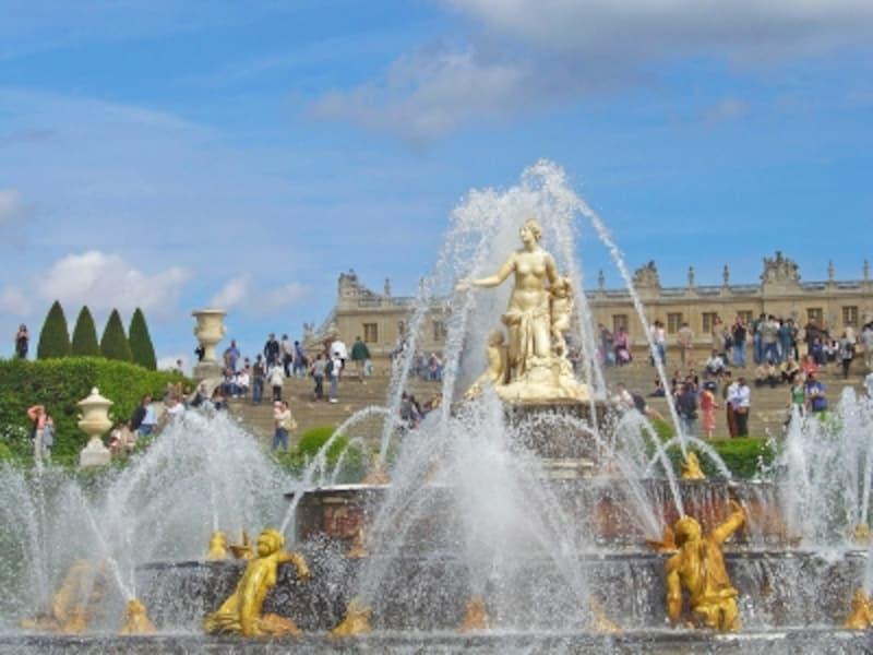 ラトナの泉の噴水ショー