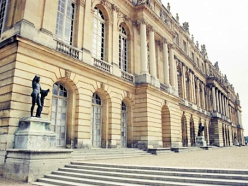 ベルサイユ宮殿西ファサード