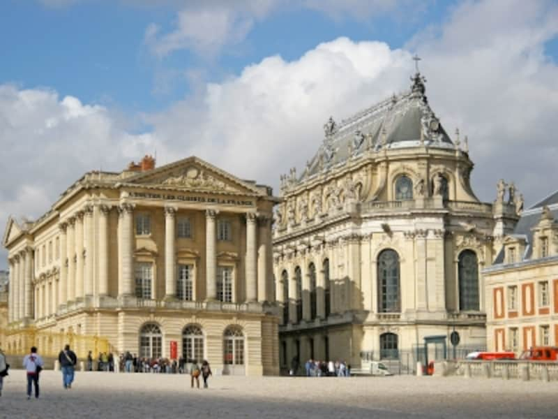 ベルサイユ宮殿の威容