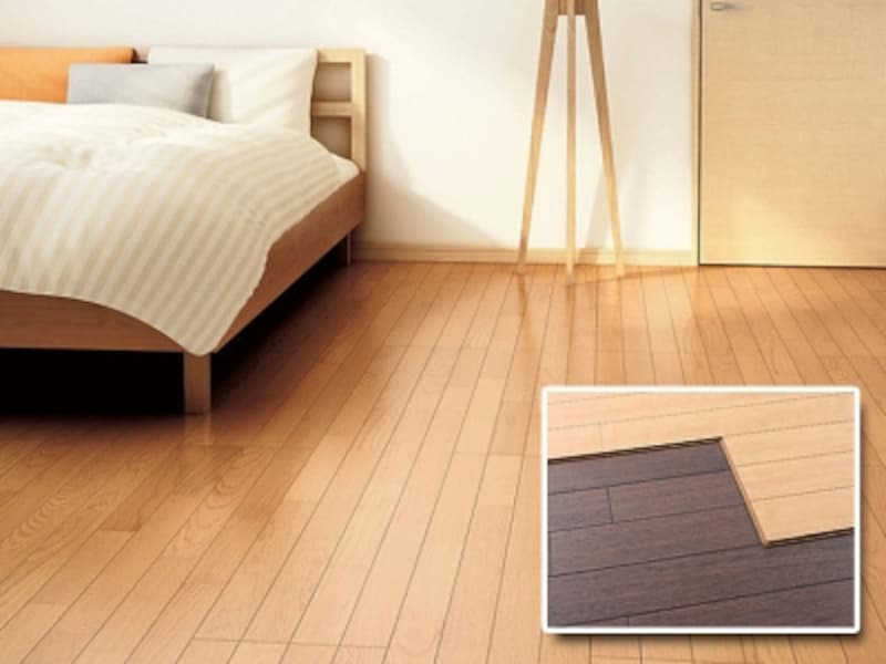 天然木のリフォーム用床材