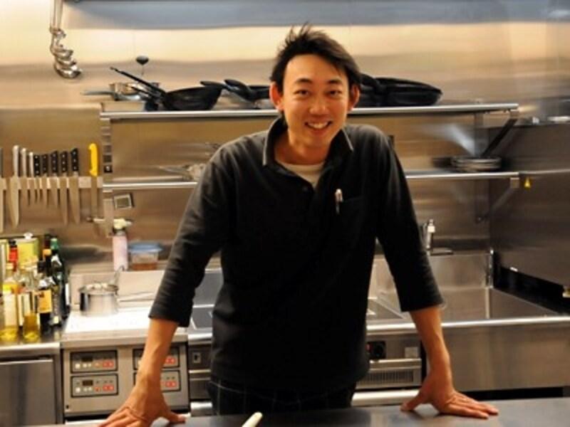 料理を担当する浦田隆幸シェフ
