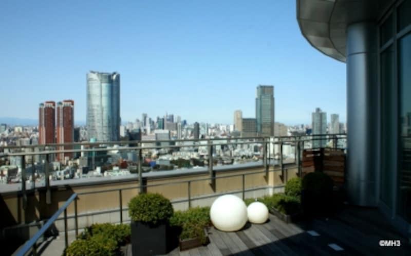 「東京ミッドタウン」を望む