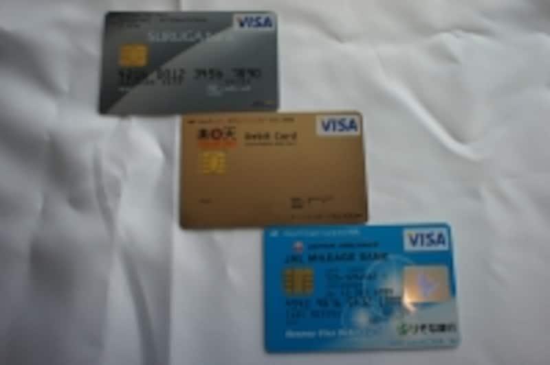 今はスルガ銀行、楽天銀行、りそな銀行から出ている、デビットカード。これから電子決済はもっと多くなると思います。