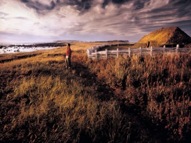 バイキングが越えて来た大西洋が目の前に広がる(C)NewfoundlandandLabradorTourism