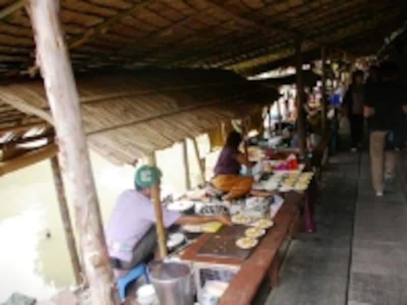 タイのお菓子undefined水上マーケット