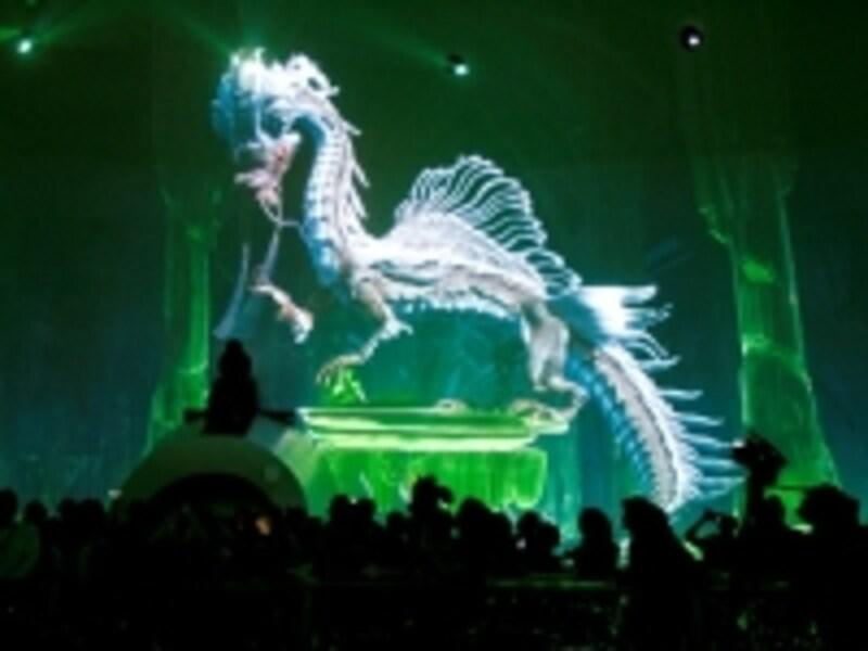3Dデジタル画像を使ったショー「ドラゴンズ・トレジャー」(c)CityofDreams