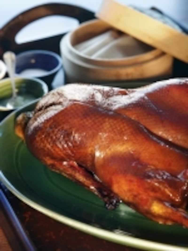ベイジン・キッチンの名物料理北京ダックは要事前予約(c)CityofDreams