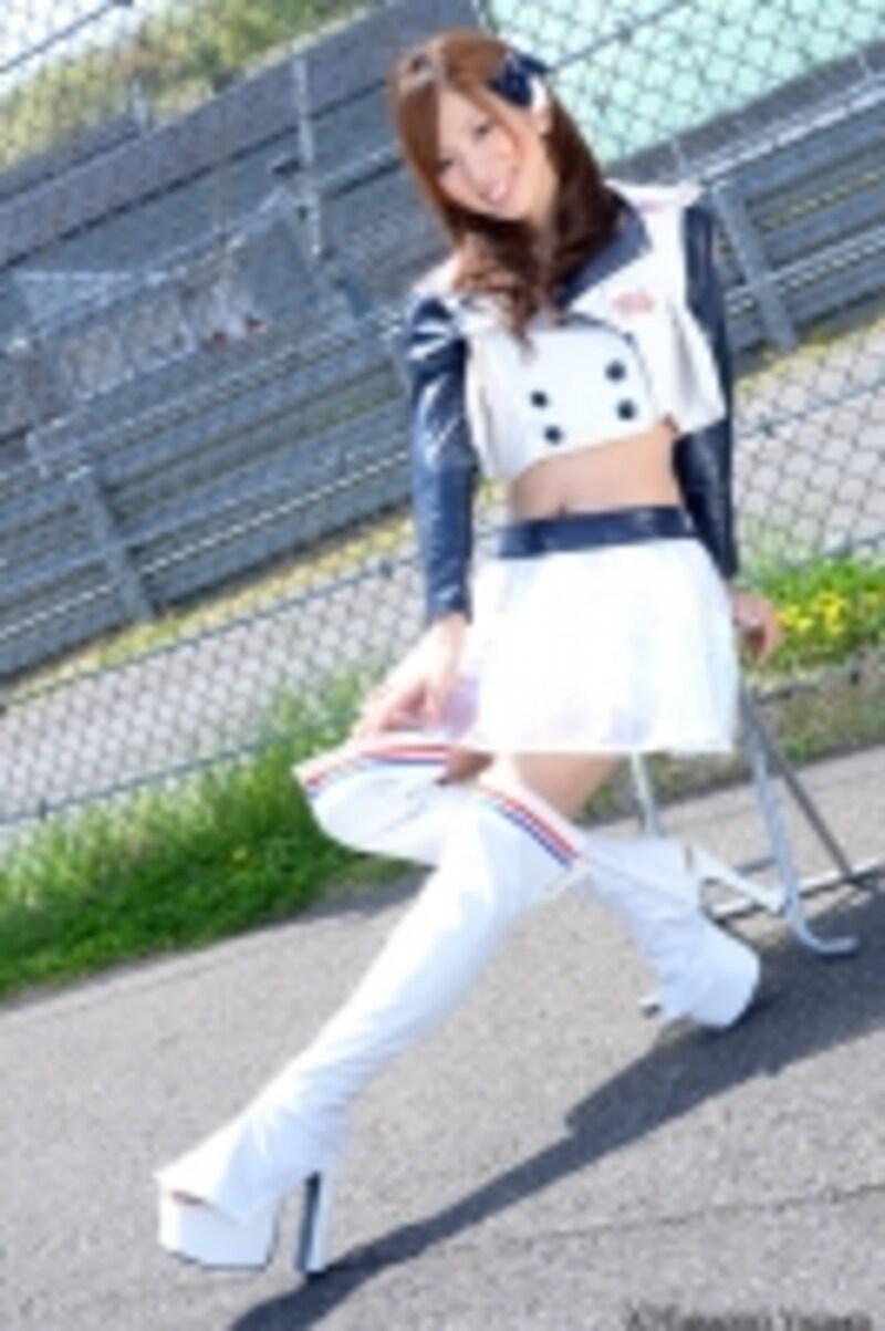 吉口加奈子/スーパー耐久レースイメージガール・スーパーガール2012「S☆CREW」