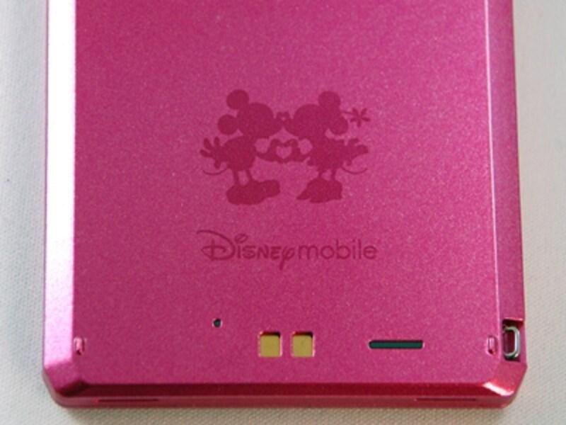 ディズニーモバイルのブランドロゴも入ってます。