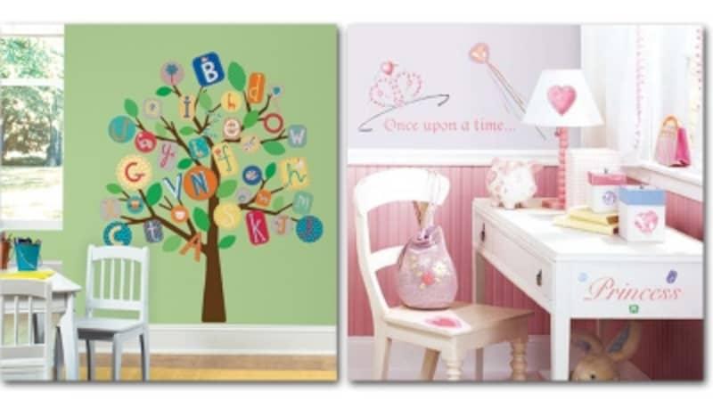 子供部屋の壁