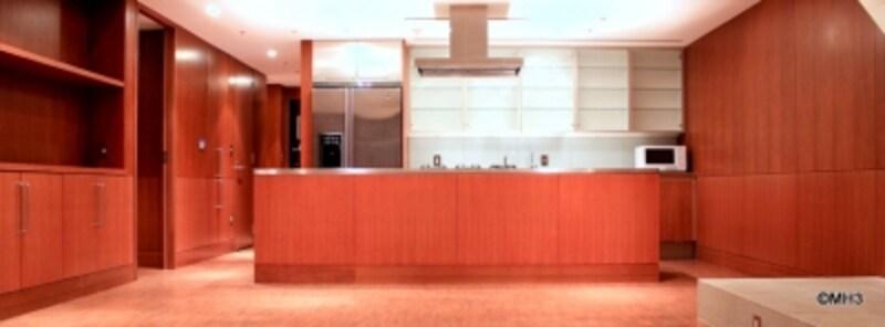 「六本木ヒルズレジデンス」のキッチン(一例)