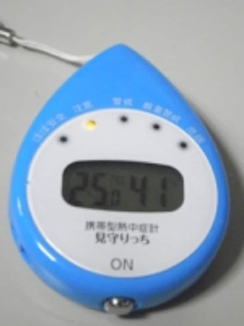 携帯熱中症計
