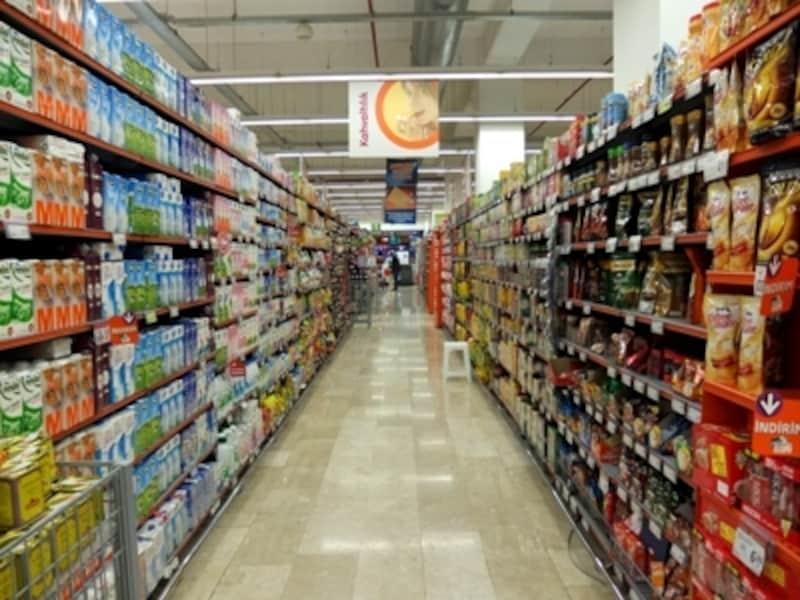 トルコのスーパー