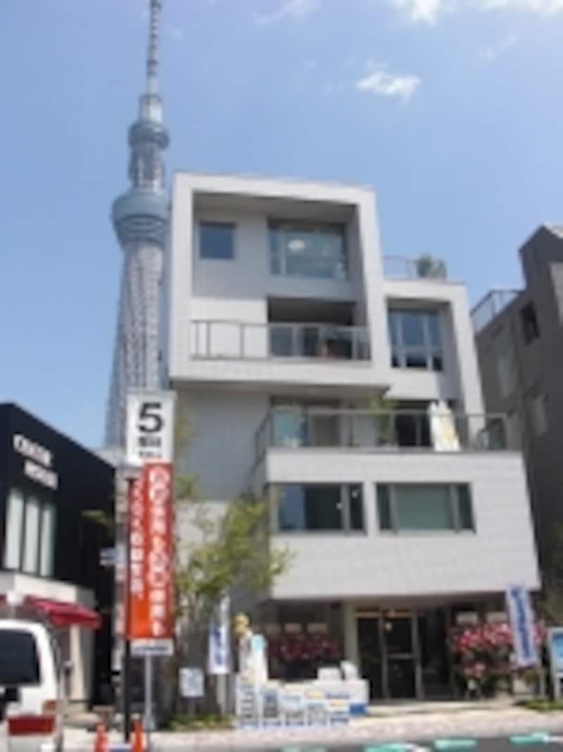 5階建てモデルハウス