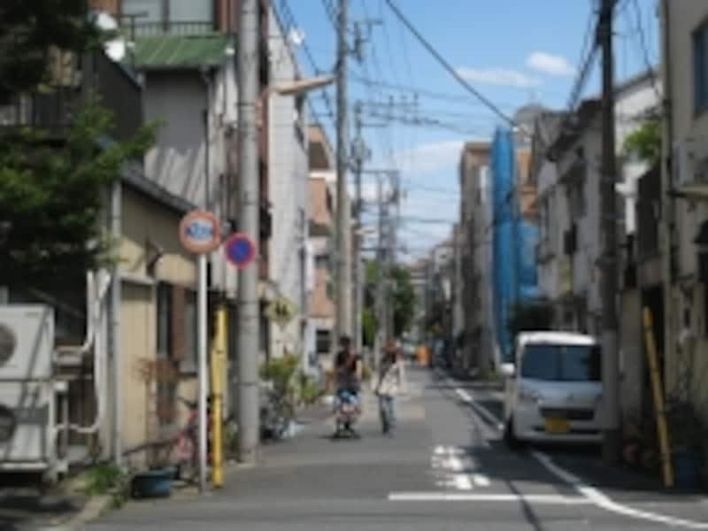 静かな街並み