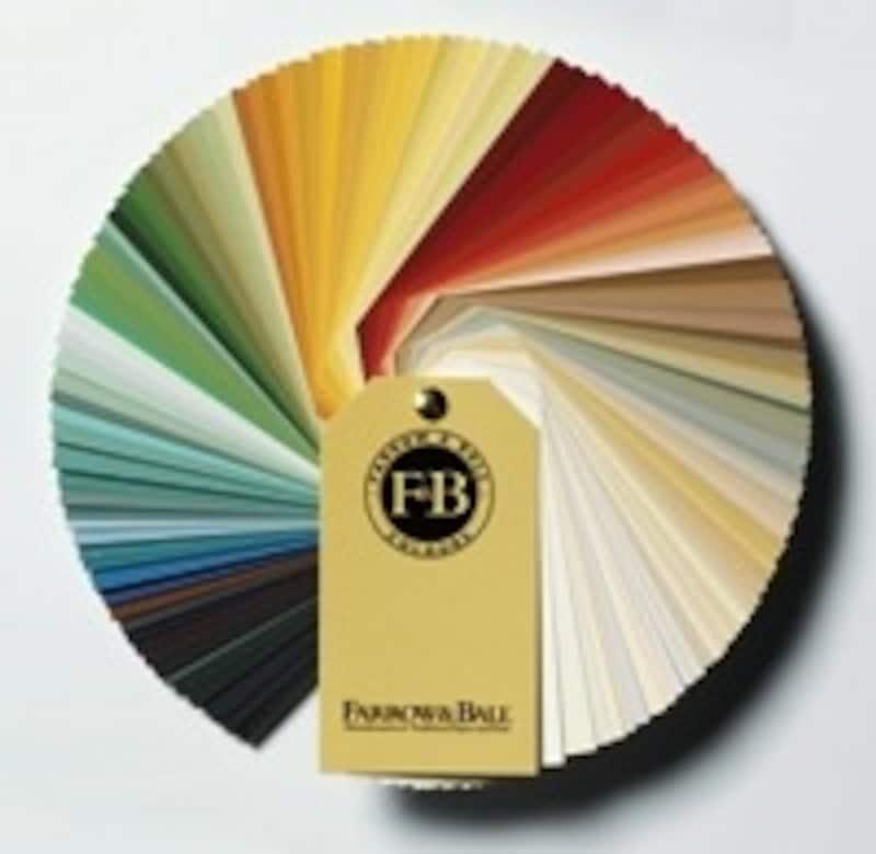 天然顔料を最大限使用し、ひとつひとつハンドメイドで生産される英国製塗料「ファロー&ボール」