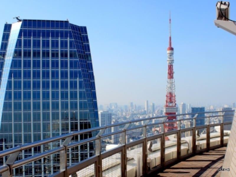 「愛宕グリーンヒルズフォレストタワー」スカイデッキ