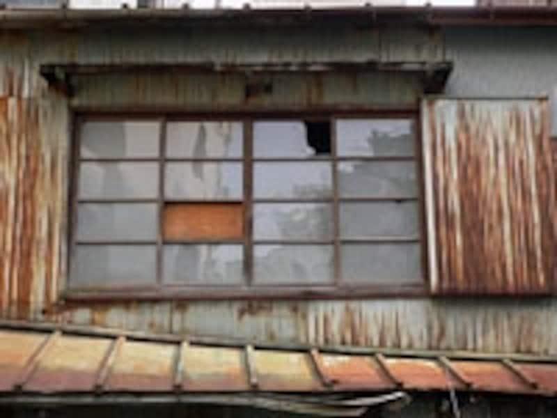 老朽化した空き家