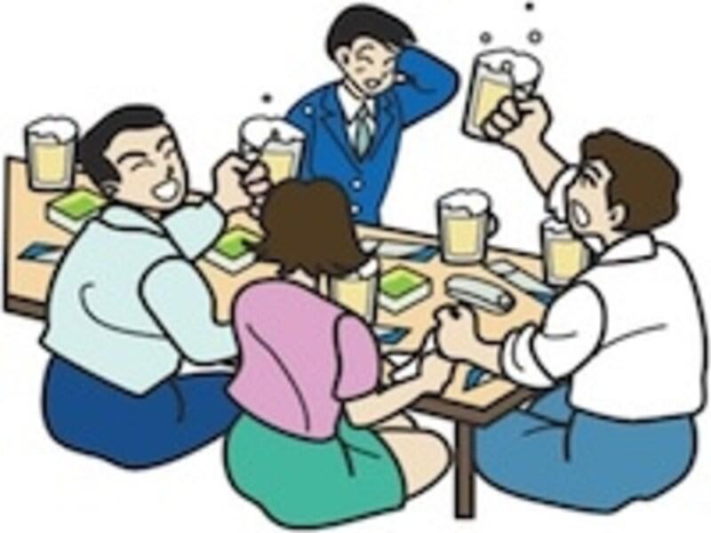 食事と一緒に飲むお酒
