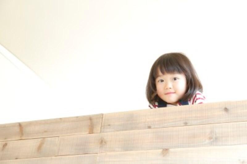 ロフトは隠れ家的な空間になるので子どもも喜びます