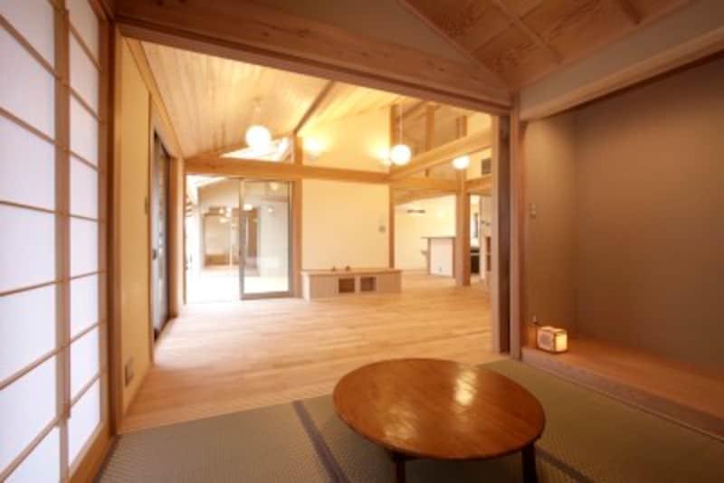 例え3畳程度でも畳の空間があると多目的に使えて便利です
