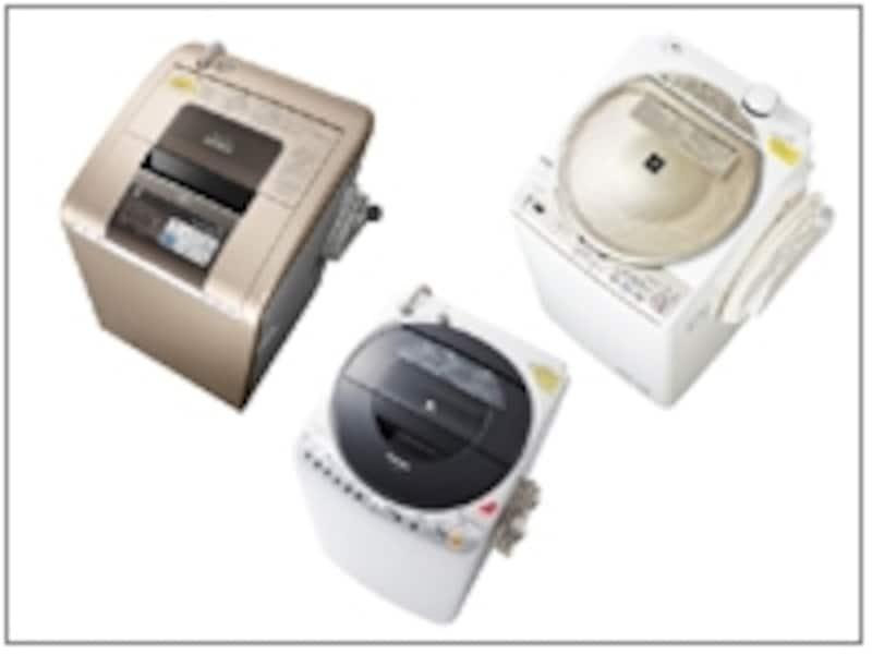 2012年タテ型洗濯乾燥機