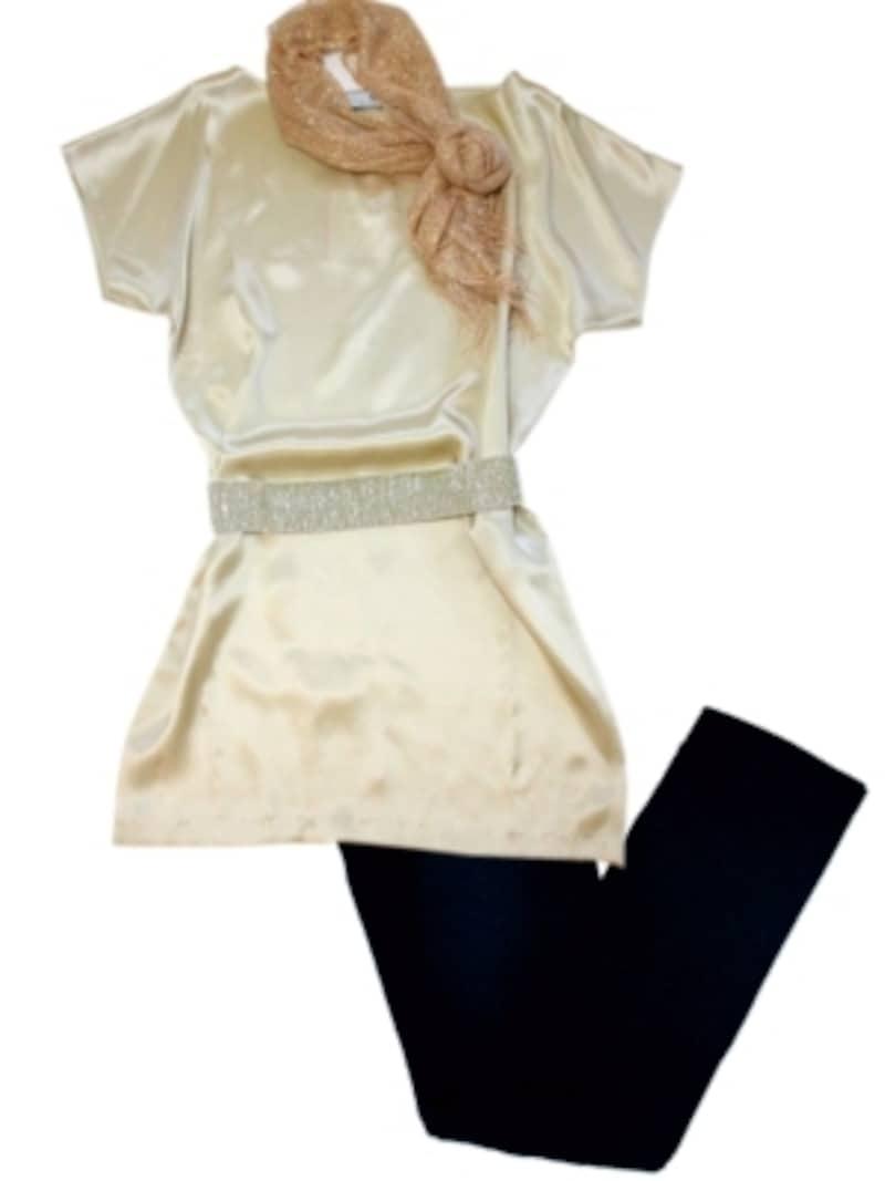 0eab6d1c80192 ... 出席する程度なら十分。その際、チュニックは特に華やかなデザインを選ぶようにすれば、ドレススタイルにもひけをとらないスタイルになります。 パーティ ドレスの ...