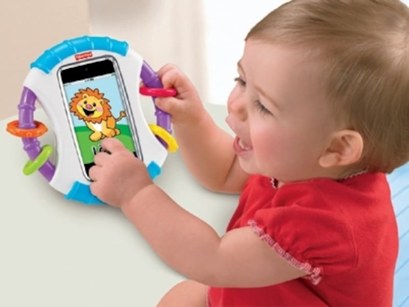 壊す、口に入れる、ホームボタンを押される……などなど、赤ちゃんならではのリスクを回避