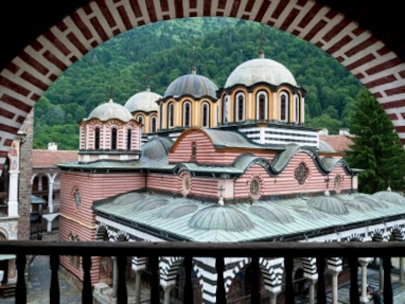僧院から眺めた聖母教会