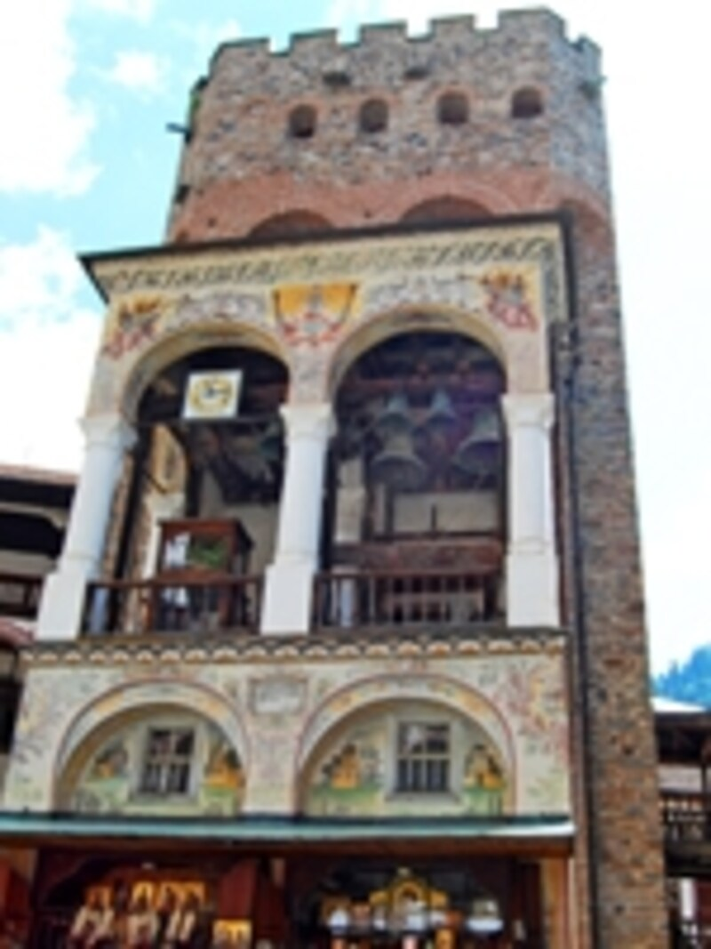 フレリヨの塔の鐘楼