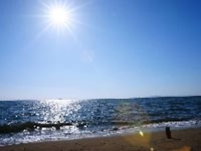 海と紫外線