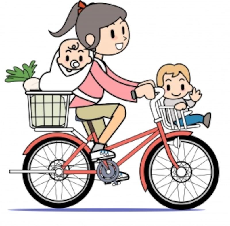 抱っこやおんぶで自転車に乗ってもよいものなのでしょうか?