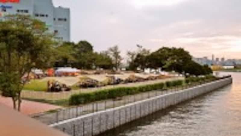 都立新木場公園バーベキュー広場新木場アウトドアセンター