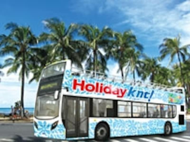 2階建てオープンバス(KNT)