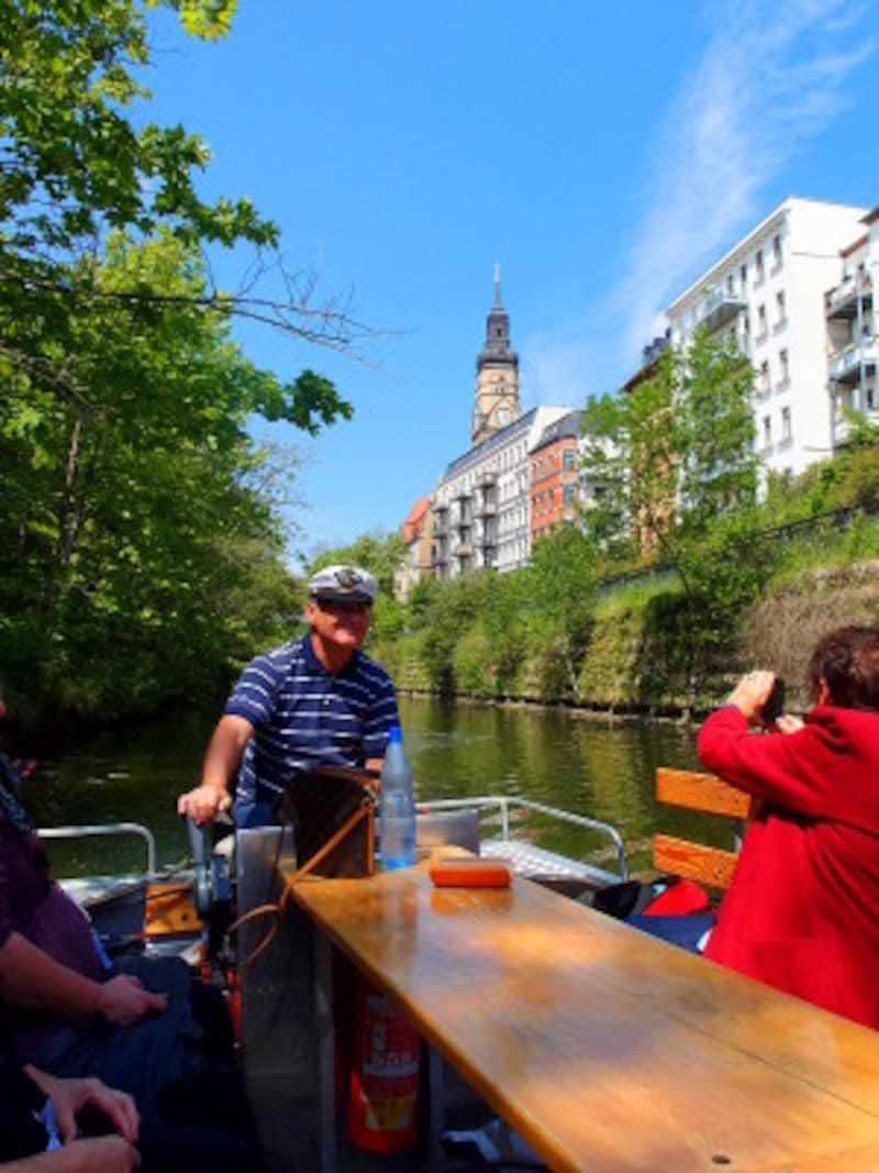 運河ツアー