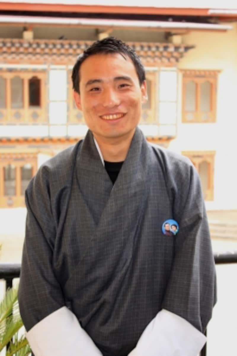 ブータン人日本語ガイド、ツェリン・タシさん