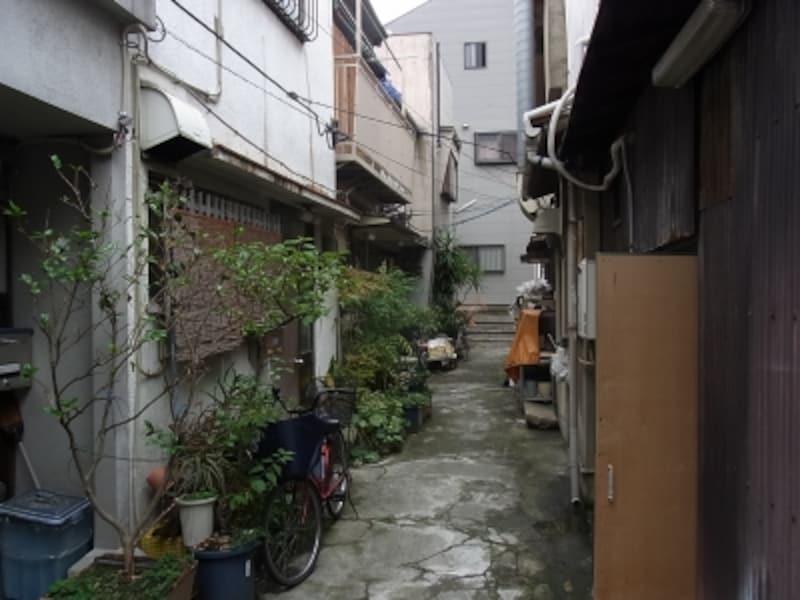 路地、階段、空堀