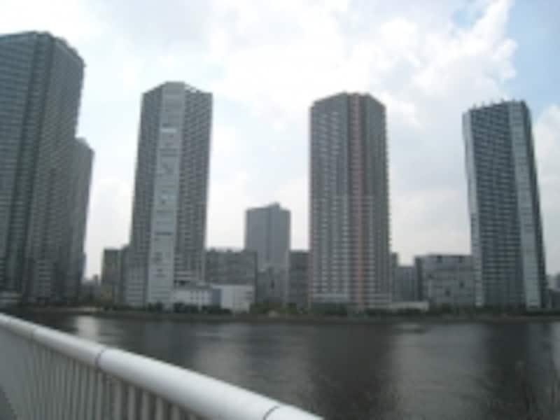 辰巳運河から望む