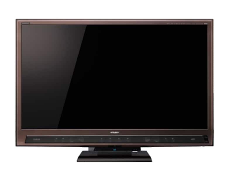 往年の三菱おAV機器を彷彿させる先鋭な魅力に富んでいるのが、LCD-55LSR3です