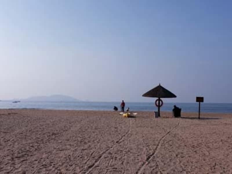 海南島三亜・三亜湾ビーチ