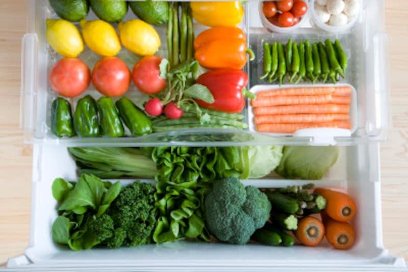 色の濃い野菜にはβカロチンがたっぷり!